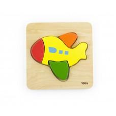 Prvé puzzle - lietadlo
