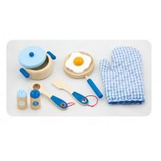 Raňajková sada - modrá