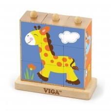 Kocky puzzle - zoo