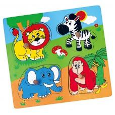 Puzzle prekvapenie - zoo